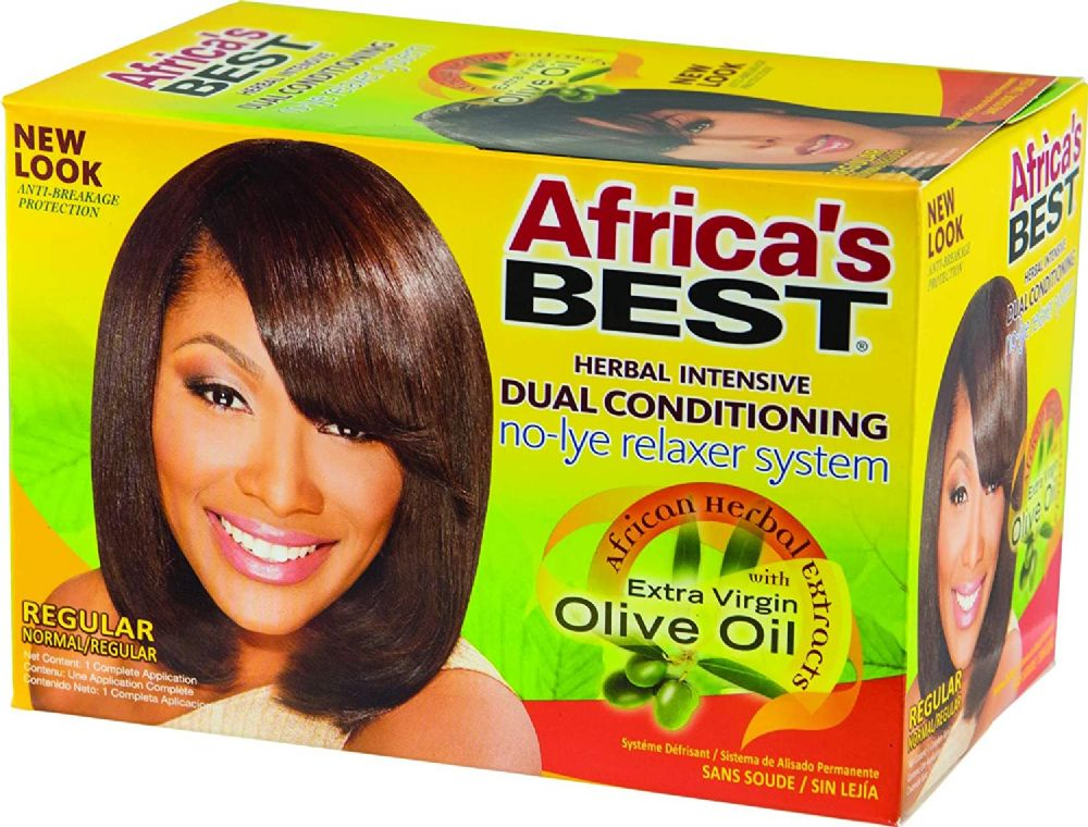 Africa's Best No-lye Dual Conditioning Relaxer System